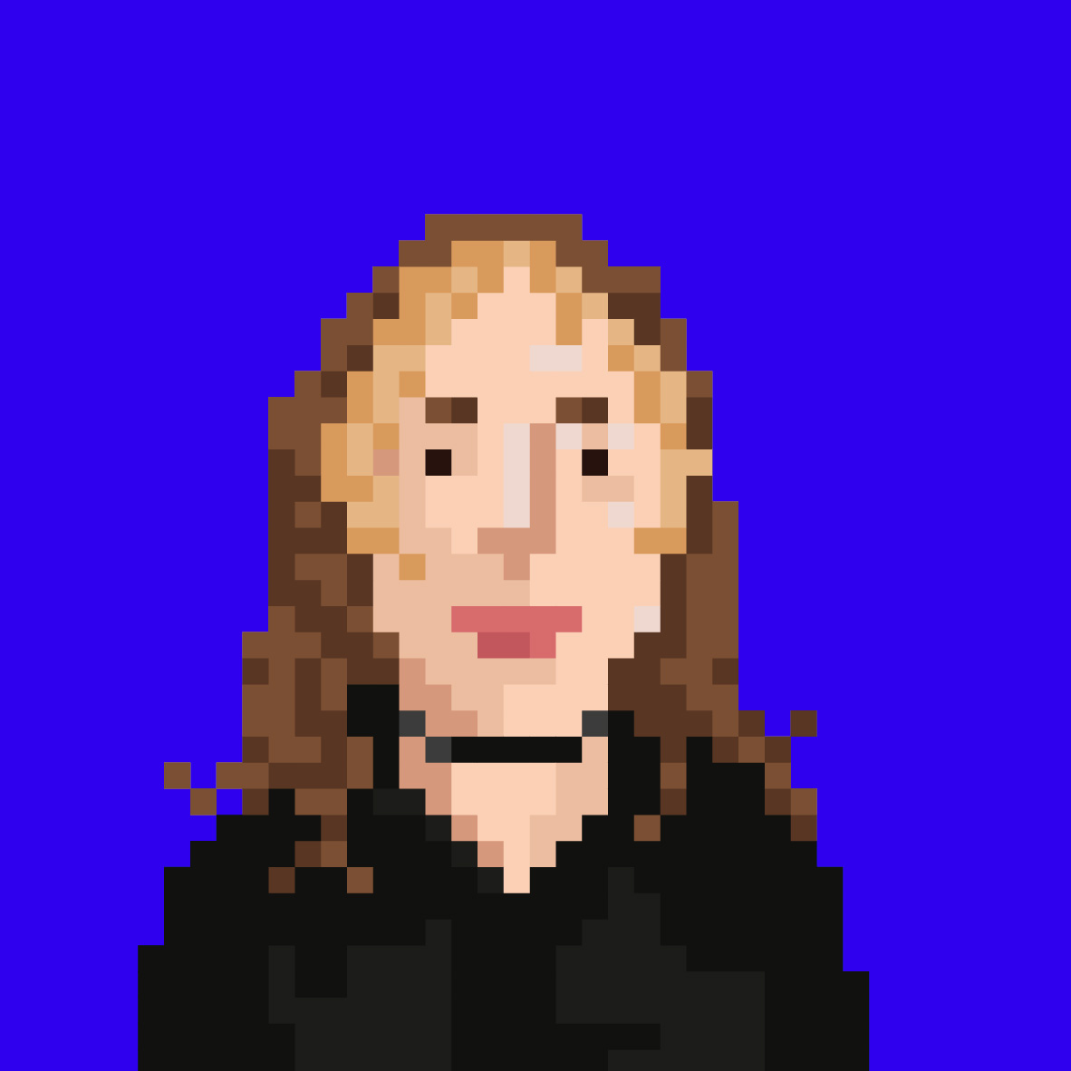 PixelPortrait von Shenja Tushybskaya