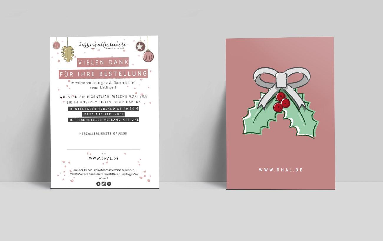 Design Postkarte für dasherzallerliebste von der Yip Yips Agentur