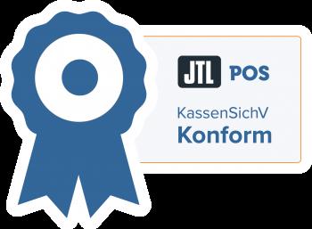 JTL Pos Icon, KassenSichV Konform