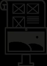 Webdesign von yip yips design agentur aachen, dargestellt durch die Illustration von Webdesign