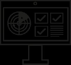 Marketplace Seo der Yip Yips Agentur Aachen, dargestellt durch die Illustration eines Bildschirms